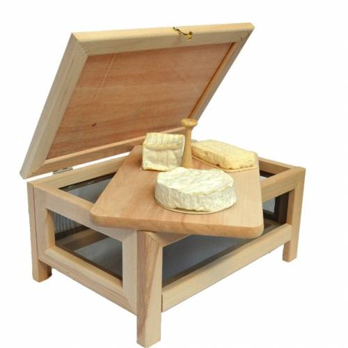 Fromager avec plateau à fromage  Rustique Masy 215